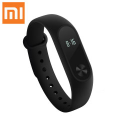 Monitor your fitness, heart rate and sleep with the Xiaomi Mi Band 2. Compatible with your Android or iOS smartphone, transfer data from your activity tracker wirelessly.