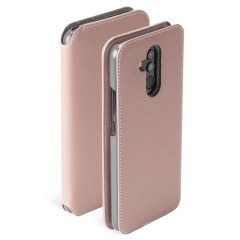 Krusell's Pixbo 4 Card SlimWallet case in pink combines Nordic chic with Krusell's values of sustainable manufacturing for the socially-aware Huawei Mate 20 Lite owner who seeks 360° protection with extra storage for cash and cards.