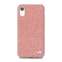 The Vesta case from Moshi adds not only premium military-grade drop protection to your Apple iPhone XR, but also a wonderfully individual vintage fabric back complemented by a metallic frame. Form meets function in this elegant, effective cover.