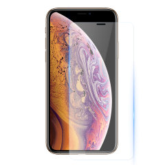 Protection d'écran Verre trempé iPhone XS Olixar Compatible Coque