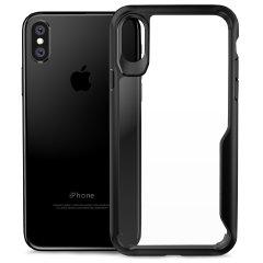Olixar NovaShield iPhone X Case - Zwart