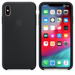 This official silicone case for the iPhone XS Max in black from Apple offers top level protection, while looking and feeling luxurious. Designed and made by Apple, this case fits your iPhone perfectly and compliments its overall aesthetic.