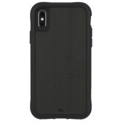 Ultimate protection for your iPhone XS Max with the Case-Mate Carbon Fibre case. Featuring a two-piece design and drop tested up to 12 feet, this case provides reliable protection and a sleek look.