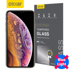 This tempered glass screen protector for the iPhone XS Max from Olixar has complete edge to edge screen protection, toughness, high visibility and sensitivity all in one package, with the added bonus of limiting potentially harmful blue light rays