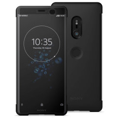 This official SCTH70 Style Cover Touch in black from Sony houses your Xperia XZ3, providing protection and full functionality through the see-through touchscreen font cover, allowing you to view and action incoming messages and calls.