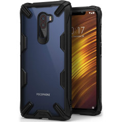 Keep your Xiaomi Pocophone F1 protected from bumps and drops with the Ringke Fusion X tough case in black. Featuring a 2-part, Polycarbonate design, this case lives up to military drop test standards so you can rest assured that your device is safe.