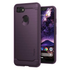 Provide your Google Pixel 3 XL with sleek, yet heavy duty protection and premium brushed metal look offering Ringke Onyx case in purple. The precision-cut design and anti-slip finish will preserve the aesthetic and offer great comfort.