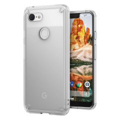 Protect the back and sides of your Google Pixel 3 XL with this incredibly durable and clear backed Fusion Case by Ringke.