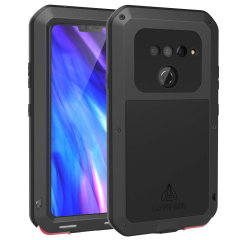 Protect your LG V40 ThinQ with one of the toughest and most protective cases on the market, ideal for helping to prevent possible damage from water and dust - this is the black Love Mei Powerful Protective Case.