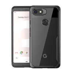 Parfaite pour les possesseurs d'un Google Pixel 3 qui souhaitent protéger leur précieux smartphone sans compromettre son design et son élégance, la coque Olixar NovaShield en coloris noir et transparent offre un haut niveau de protection tout en s'ajustant à la perfection à celui-ci.