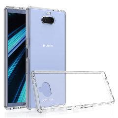 Olixar ExoShield Tough Snap-on Sony Xperia 10 Case - Crystal Clear