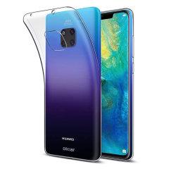 Skräddarsydd till din Huawei Mate 20 Pro. Det här FlexiShieldskalet kommer från Olixar och erbjuder en smal passform och ett hållbart skydd mot skador.