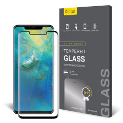 Olixar Full Cover Tempered Glas Huawei Mate 20 Pro Displayschutz