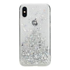 SwitchEasy Starfield iPhone XS Glitter Case - Clear