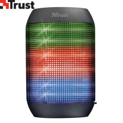 Need to set the party mood? Then the Trust Wireless Bluetooth Speaker Ziva lights is the one for you! Connect your smartphone, tablet or MP3 player to play your favourite music, and watch the lights dance around!