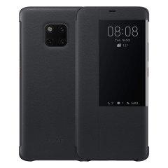 Perfekt för att kontrollera alla dina notifikationer. Nu kan du se tiden och inkommande samtal utan att öppna fodralet. Det officiella Huawei View Flip-fodralet till Huawei Mate 20 Pro är elegant och tillverkat av de finaste materialen, samtidigt som det ger skydd till skärmen tack vare locket.