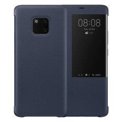 Bescherm het scherm van je Huawei Mate 20 Pro en blijf op de hoogte van de tijd, het weer, belmeldingen en meer dankzij het intuïtief ontworpen slimme kijkvenster op de Huawei flip case. Gemaakt van de beste materialen.