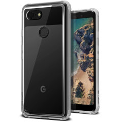 Protect your Google Pixel 3 with this precisely designed clear case from VRS Design. Made with a sturdy yet minimalist design, this see-through case offers protection for your phone while still revealing the beauty within.