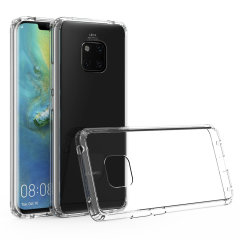 Custom moulded for the Huawei Mate 20 Pro, this crystal clear Olixar ExoShield tough case provides a slim fitting, stylish design and reinforced corner protection against shock damage, keeping your device looking great at all times.