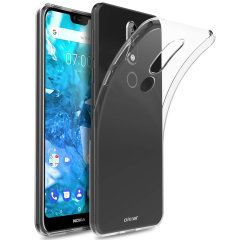 This transparent ultra-thin gel case by Olixar provides a slim fit while still providing protection for your Nokia 7.1. The gel material provides extra grip, while also featuring a raised bezel to help protect your phone's screen.