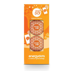 Are you worried about the harmful radiations you may get from your smartphone? Then look no further as this two pack of smartdots is made for you - harmonize the harmful radiations and also work towards getting a better nights sleep and reduced headaches.