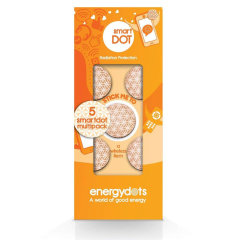 Are you worried about the harmful radiations you may get from your smartphone? Then look no further as this five pack of smartdots is made for you. Block harmful EMF radiation and also work towards getting a better nights sleep and reduced headaches.