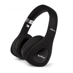 Veho ZB-6 Wireless Bluetooth On-Ear Foldable Headphones - Black