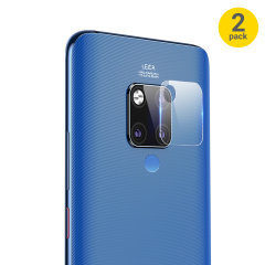 This 2 pack of ultra-thin tempered glass rear camera protectors for the Huawei Mate 20 X from Olixar offers toughness and superb clarity for your photography all in one package.