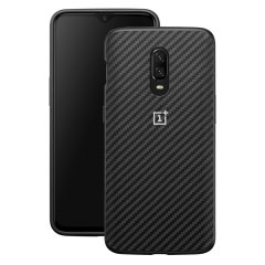 This Official OnePlus bumper case in black carbon is the perfect accessory offering all-round protection for your OnePlus 6T.