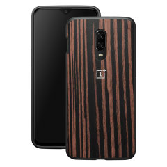 This Official OnePlus bumper case in ebony wood is the perfect accessory offering all-round protection for your OnePlus 6T.