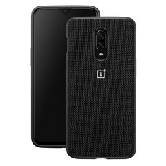 This Official OnePlus bumper case in black nylon is the perfect accessory offering all-round protection for your OnePlus 6T.