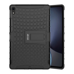 Protect your Apple iPad Pro 12.9 2018 from bumps and scrapes with this black ArmourDillo case. Comprised of an inner TPU case and an outer impact-resistant exoskeleton, the ArmourDillo provides robust protection and supreme styling.