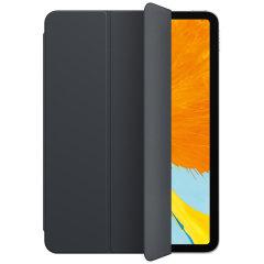 Proteja su iPad Pro 11 2018 con esta funda de estilo de cuero de la serie Smart Folio en negro con la función de dormir / despertar, asegurando que su Pro se mantenga impecable mientras está protegido en todo momento.