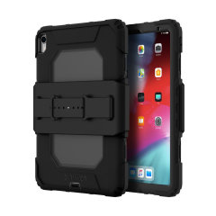 Duststorms, rainstorms, 6 foot drops... No matter what life throws at you or your Apple iPad Pro 11, the Griffin Survivor all-terrain tough case is ready for anything!