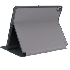 The Speck Presidio is the evolution of the popular CandyShell case. A rugged grey case made from two protective layers for the iPad Pro 12.9. Features enhanced drop protection, 100% clear finish and reduced bulk.
