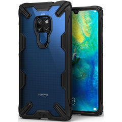 Keep your Huawei Mate 20 protected from bumps and drops with the Rearth Ringke Fusion X tough case in black. Featuring a 2-part, Polycarbonate design, this case lives up to military drop test standards so you can rest assured that your device is safe.