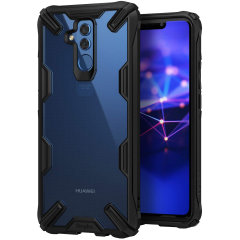 Keep your Huawei Mate 20 Lite protected from bumps and drops with the Rearth Ringke Fusion X tough case in black. Featuring a 2-part, Polycarbonate design, this case lives up to military drop test standards so you can rest assured that your device is safe