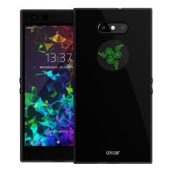 Custom moulded for the Razer Phone 2, this black Olixar FlexiShield case provides slim fitting and durable protection against damage.