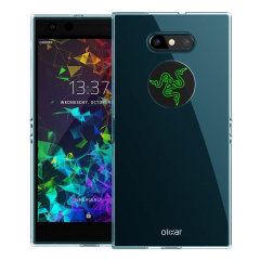 Custom moulded for the Razer Phone 2, this blue Olixar FlexiShield case provides slim fitting and durable protection against damage.