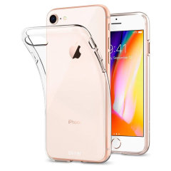 Coque iPhone 8 Olixar Ultra Mince en gel – 100% Transparente