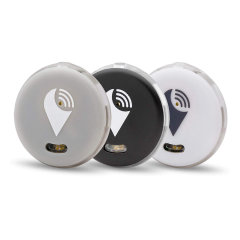 Keep your phone, wallet, bag and keys safe by your side in the secure knowledge you will hear an audible alarm if you stray too far away from your device or someone removes your valuables with the 3 pack of TrackR Pixel Bluetooth.