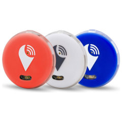 Keep your bag, phone, wallet and keys safe by your side in the secure knowledge you will hear an audible alarm if you stray too far away from your device or someone removes your valuables with the 3 pack of TrackR Pixel Bluetooth.