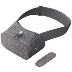 Discover new worlds through your smartphone with the Google Daydream Virtual Reality Headset. This sturdy, immersive headset comes with an adjustable head strap and 4-way adjustable optics to make sure your VR experience is as comfortable as it can be.