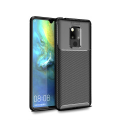Olixar Carbon Fibre case is a perfect choice for those who need both the looks and protection! A flexible TPU material is paired with an eye-catching carbon print to make sure your Huawei Mate 20X is well-protected and looks good in any setting.