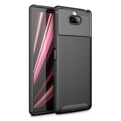 Olixar Carbon Fibre case is a perfect choice for those who need both the looks and protection! A flexible TPU material is paired with an eye-catching carbon print to make sure your Sony Xperia 10 Plus is well-protected and looks good in any setting.
