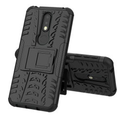 Protect your Nokia 7.1 from bumps and scrapes with this black ArmourDillo case. Comprised of an inner TPU case and an outer impact-resistant exoskeleton, the Armourdillo not only offers sturdy and robust protection, but also a sleek modern styling.