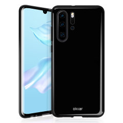 Custom moulded for the Huawei P30 Pro, this black Olixar FlexiShield case provides slim fitting and durable protection against damage.
