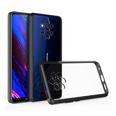 Maßgeschneidert für das Nokia 9. Dieses schwarze Olixar ExoShield Hartschalenetui bietet ein schlankes, passendes, stilvolles Design und einen verstärkten Eckstoßschutz vor Beschädigungen, so dass Ihr Gerät jederzeit gut aussieht.
