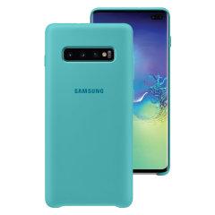Bescherm uw Samsung Galaxy S10 Plus met deze officiële siliconen case. Eenvoudig en stijlvol, deze hoes is het perfecte accessoire voor uw Samsung-apparaat.