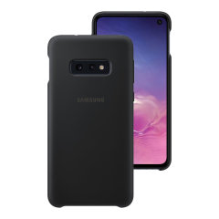 Protect your Samsung Galaxy S10e with this Official silicone case in black. Simple yet stylish, this case is the perfect accessory for your S10e.